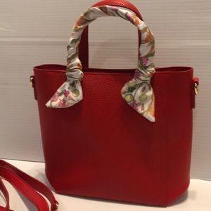 NWOT Crossbody or Tote Handbag -Perfect Size